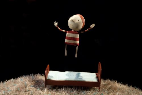 """""""The Way Back Home"""" - spektakl na podstawie książek Olivera Jeffersa, fot. Wrocławski Teatr Lalek"""